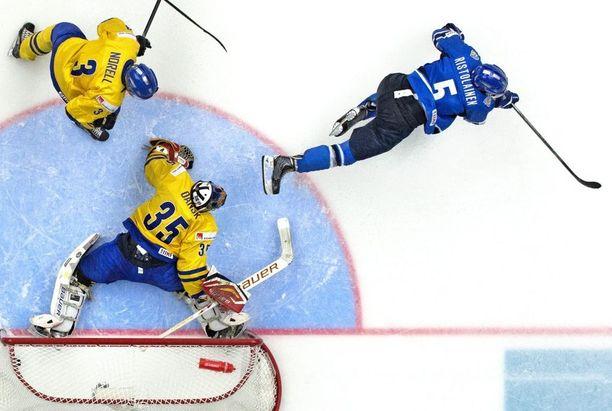 Ristolainen upotti MM-finaalissa Ruotsin ikimuistoisella jatkoaikamaalilla.