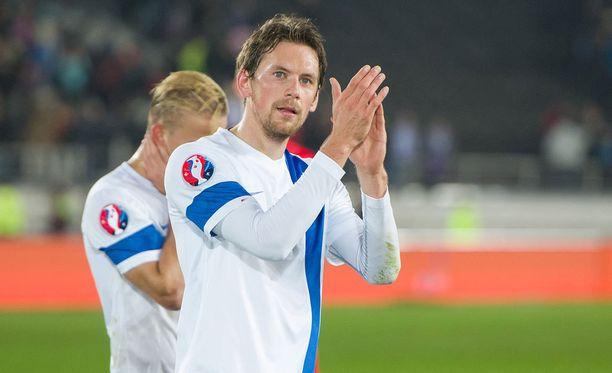 Kasper Hämäläisellä on Legia-voiton jälkeen aika paikka Lech Poznanin fanien sydämissä.