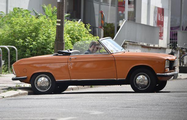 Danielin auto on peräisin 1970-luvun alusta.