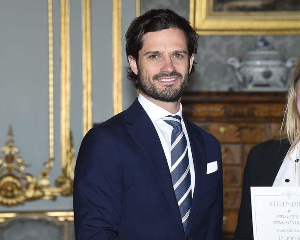 Prinssi Carl Philip työskentelee myös design-toimisto Bernadotte & Kybergissä.