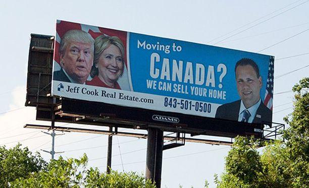 Kanadan maahanmuuttoviranomaisten nettisivut menivät tukkoon, kun Donald Trump voitti vaalit. Tämä kiinteistövälittäjä auttaa, jos suunnittelet muuttoa rajan pohjoispuolelle.