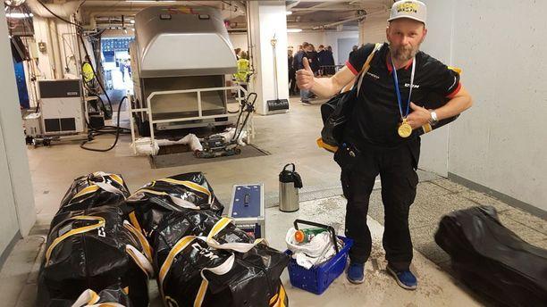 Arto Pekkala ja uran viides SM-kulta.