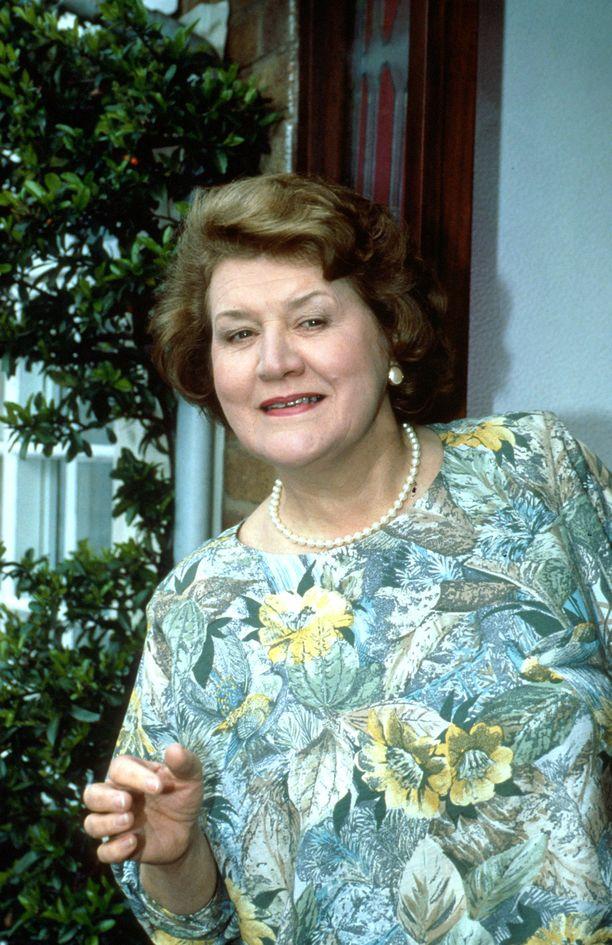 Patricia Routledge muistetaan Pokka pitää -sarjasta.