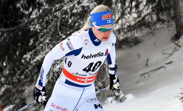 Anne Kyllönen on henkisessä ja fyysisessä montussa.