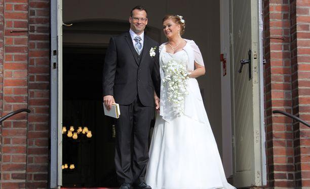 Markus Haapasalo ja Tarja Smura vihittiin vuonna 2013.