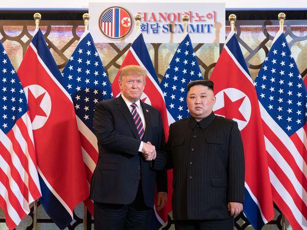 Pohjois-Korea alkoi rakentaa pikaisesti ohjusten laukaisualustaa, kun Donald Trumpin ja Kim Jong-unin tapaaminen Hanoissa päättyi tuloksettomana.