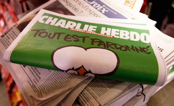 Charlie Hebdon tilaajamäärä kasvoi hurjasti terrori-iskun myötä.