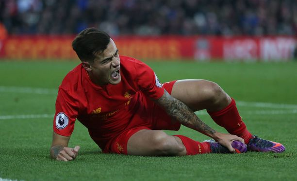 Philippe Coutinhon nilkkavamma loi synkän varjon Liverpoolin voiton ylle.
