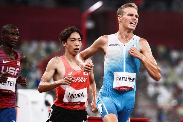 Topi Raitasen hieno kiri poiki olympiafinaalissa kahdeksannen sijan.