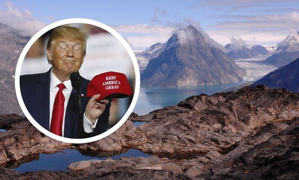 Donald Trump on useaan otteeseen kertonut haaveilevansa Grönlannin ostamisesta Yhdysvalloille.