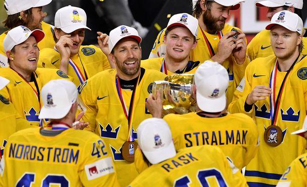 Ruotsi on nyt kymmenkertainen jääkiekon maailmanmestari.