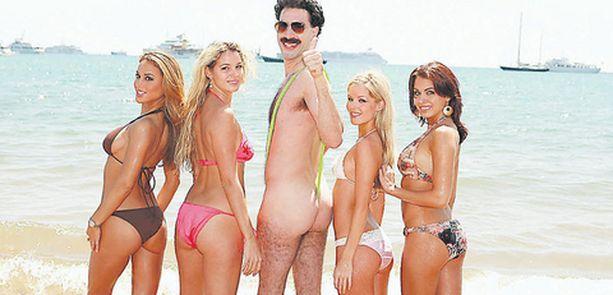 Boratin huumorista kiistellään: onko se rasismia vai rasismin parodiointia.