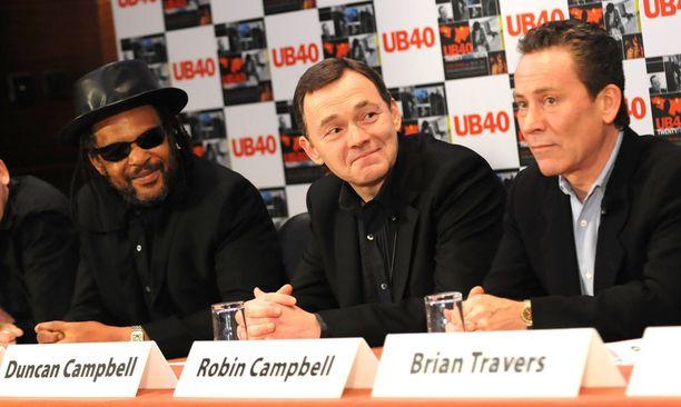 Vuoden 2008 vappuna Astron välit olivat vielä ainakin päällisin puolin kunnossa Duncanin ja Robinin kanssa.