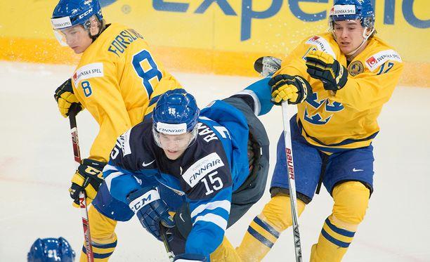 Nuorten MM-kisat alkavat tänään. Kuva toissa vuodelta Helsingin kisoista.