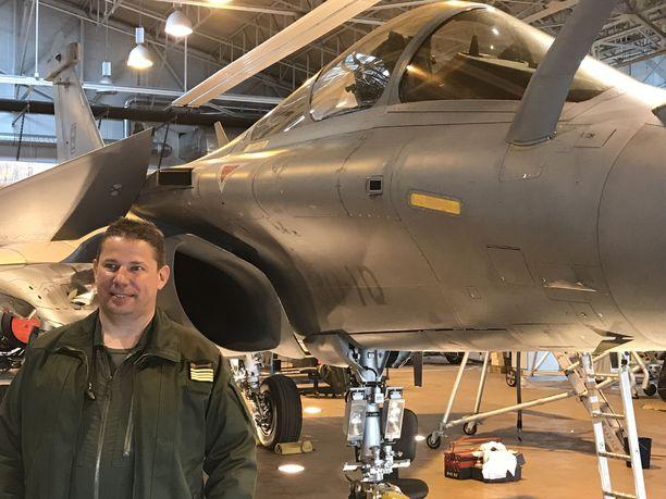 Majuri Judicaël vieraili toukokuussa Suomessa Bold Quest -harjoituksessa.  Judicaël on osallistunut Rafaleilla moniin sotilasoperaatioihin ympäri maailmaa.