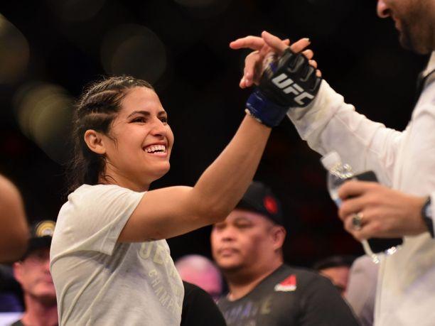 Polyana Viana otteli viime vuonna UFC:ssa kahdesti.