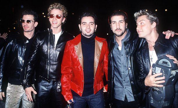 NSYNC oli suosittu poikabändi 90-luvulla.
