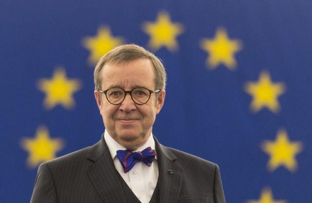 Viron ex-presidentti Toomas Hendrik Ilves on tunnettu suorasanaisuudestaan.