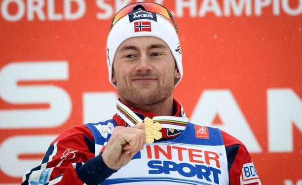 Petter Northugin raju loppuveto toi miehelle 50 kilometrin MM-kultaa.