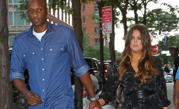 Lamar Odom ja Khloe Kardashian vielä silloin, kun pari oli yhdessä.