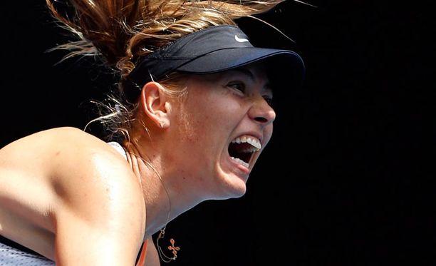 Maria Sharapova on määrätty kilpailukieltoon.