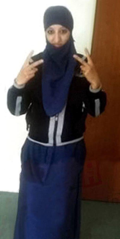 Hasna Aitboulahcen houkutteli poliisit lähemmäksi ja alkoi sitten tulittaa Kalshnikovillaan.