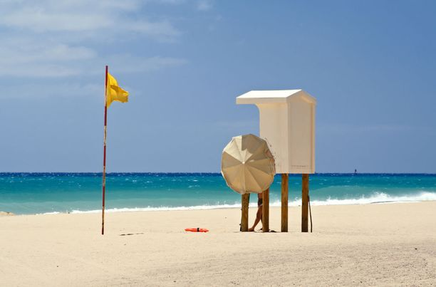 Fuerteventura tunnetaan pitkistä rannoistaan.