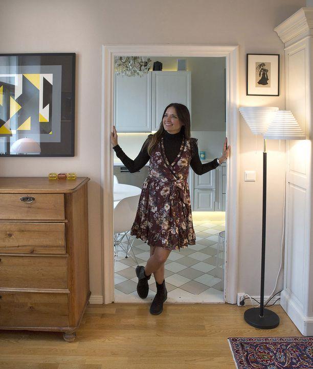-Tässä kodissa leikitään, juhlitaan, luetaan ja lapsektin elävät design-kalusteiden keskellä, Maija Lukkari-Nyman kirjoittaa Etuovi-blogissa.