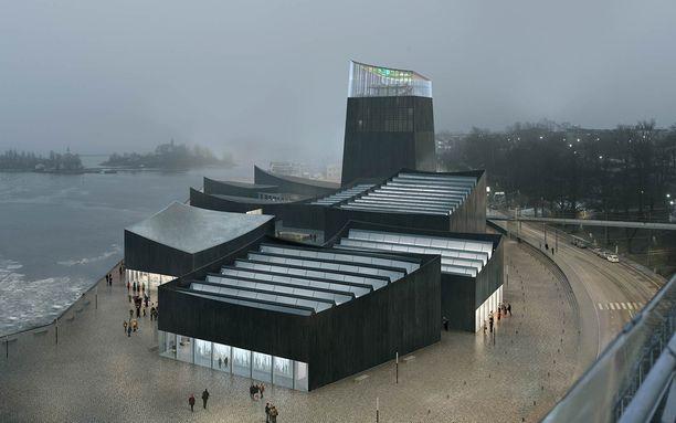 Guggenheim -museon voittajasuunnitelma näyttää tältä.