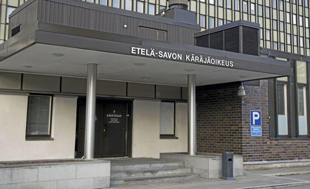 Miehet saivat tuomiot Etelä-Savon käräjäoikeudessa.