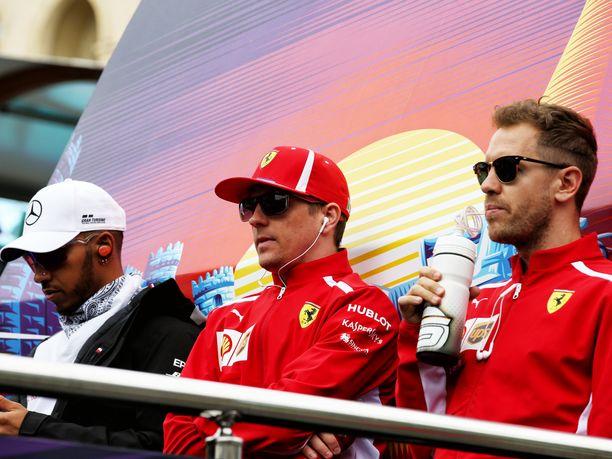 Flavio Briatoren mukaan Lewis Hamilton, Kimi Räikkönen ja Sebastian Vettel ovat ainoat kuljettajat, jotka hän tunnistaisi siviilivaatteissa.