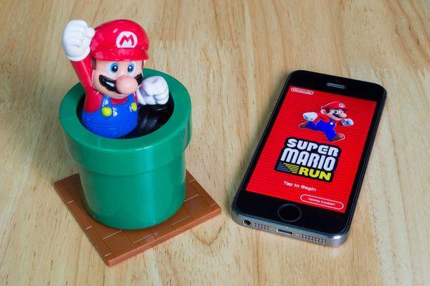 Uusin Mario-peli on älypuhelimille kehitetty Mario Run.