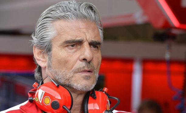 Maurizio Arrivabene ei siedä tyhmiä virheitä.