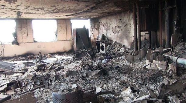 Näky Grenfell Towerin sisällä on lohduton. Ensimmäiset kuvat tulipalon tuhoamista asunnoista on nyt julkaistu.