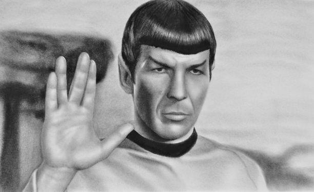 Leonard Nimoy tuli tunnetuksi Star Trekin Spockina. Vielä sarjan tapahtumat eivät muutu todeksi, tiedottavat tutkijat.