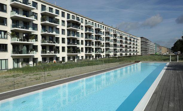 Jokaisesta asunnosta on merinäköala.