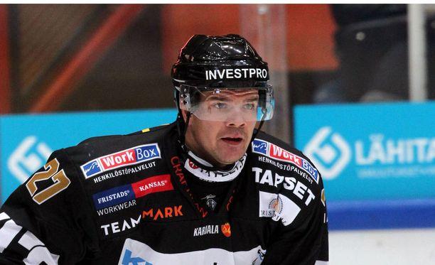 Juha-Pekka Haataja on Oulun Kärppien kasvatti.