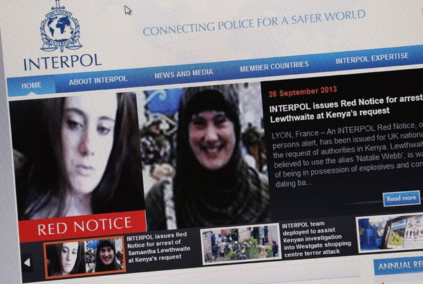 """Interpol on etsintäkuuluttanut """"Valkoisen lesken"""""""