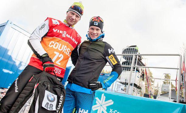 Toni Roponen (vas.) ja Matti Heikkinen ovat tehneet yhteistyötä menestyksekkäästi vuodesta 2002 lähtien.