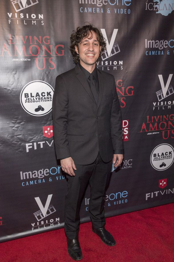 Thomas Ian Nicholas edustamassa helmikuussa 2018 Los Angelesissa elokuvaensi-illassa.