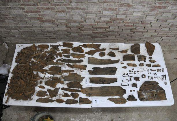 Haudasta löydetty puuarkku, jonka kannessa on kirjaimet M.C., ei liity Miguel de Cervantesiin.