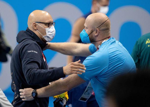 Matti Mattsson ja Eetu Karvonen ovat kulkeneet pitkän tien olympiapronssille.