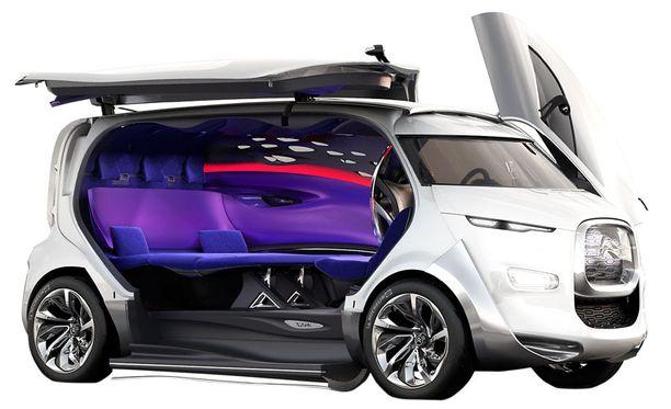 CITROËN Tubik on 8 hengen tila-auto, jonka keulan muotoon on otettu muotoa H-sarjan aaltopelti-Citroenista. Tätä taannoista ryppykeulaa moni piti maailman rumimpana autona. TUB tosin viittaa 30-luvun Traction Utilitaire Basse -pakettiautoon, joka oli etuvetoisena ja liukuovisena pakettiautojen esimalli.