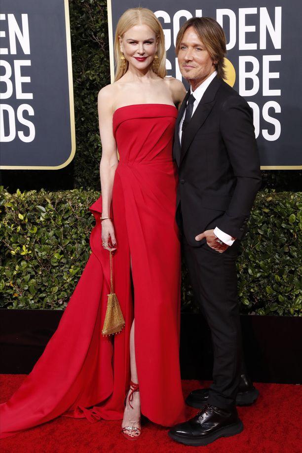Näyttelijä Nicole Kidman on pitänyt yhtä miehensä Keith Urbanin kanssa vuodesta 2005.