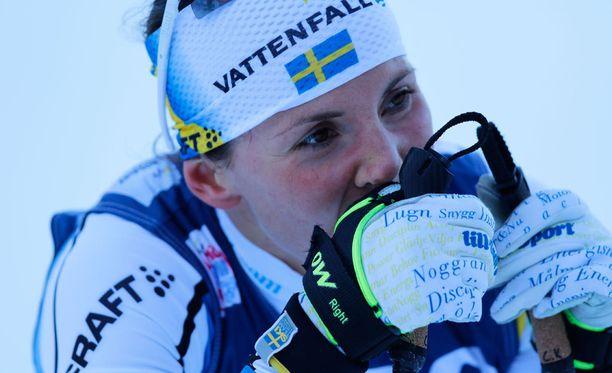 Charlotte Kalla kulkee omia polkujaan. Norjalaisillakin on pieniä ymmärrysvaikeuksia.