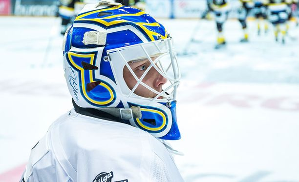 Ville Husso on torjunut tällä kaudella San Antonio Rampagessa kahdeksan  AHL-ottelua torjuntaprosentilla 89,6.