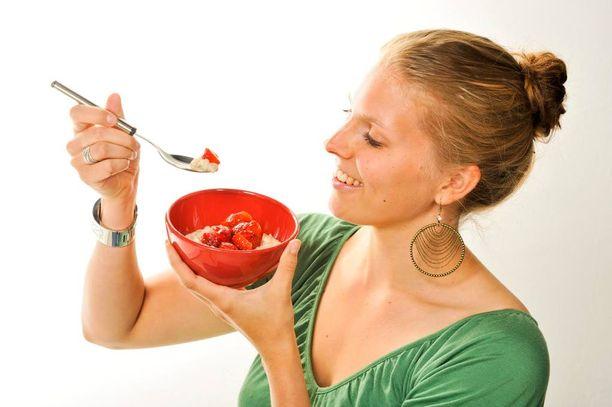 Puuro on helppoa ja hyvää syötävää.