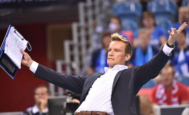 Tuomas Sammelvuon maajoukkueella on vuori kiivettävänään lentopallon MM-kisoissa.