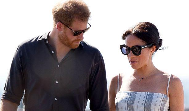 Prinssi Harry ja herttuatar Meghan ovat jo päässeet Australiaan.