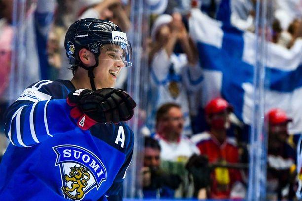 Sebastian Ahon lisäksi Suomen hyökkäysarmadassa on useita NHL-tähtiä.